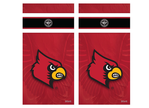 Louisville Cornhole Game Decal Set