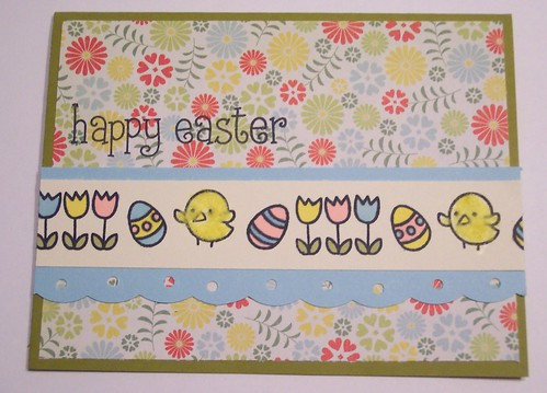 Easter Border Card