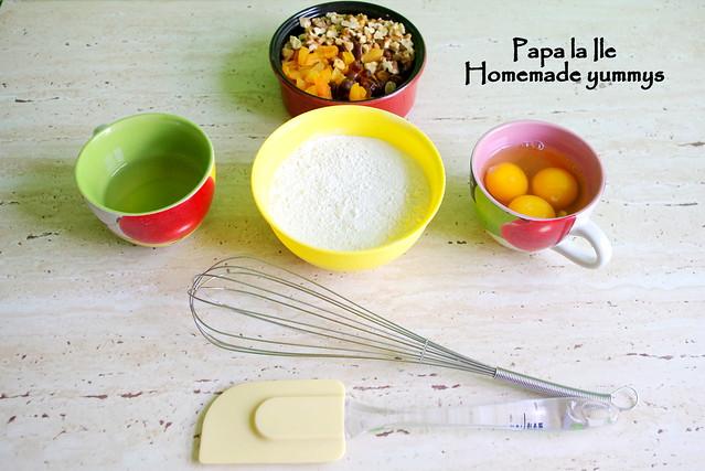 Biscuiti cu fructe uscate si nuca (2)