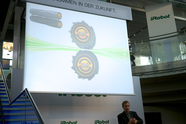 Colin  Angle, iRobot Roomba 800 event