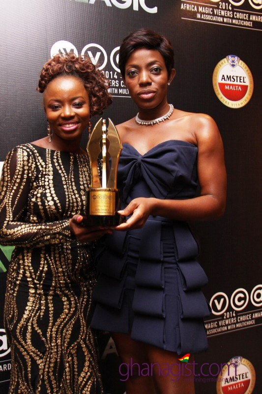 Herty Owusu and Shirly Frimong Manso - Best Writer for Drama