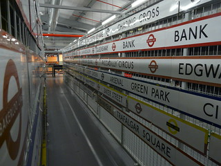 Tube Lines, London Transport Museum Depot