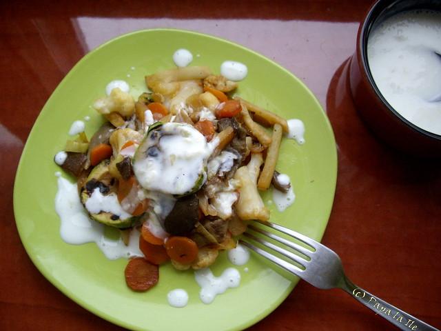 Legume cu sos de usturoi (1)