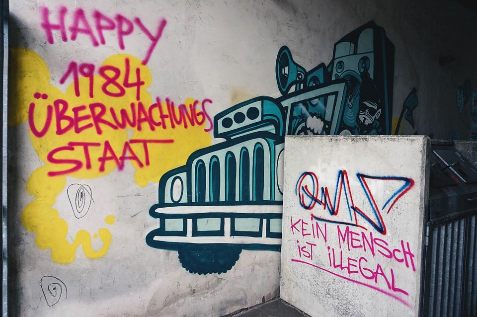 Streetart Graffiti Wände