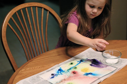Watercolor Rain Art
