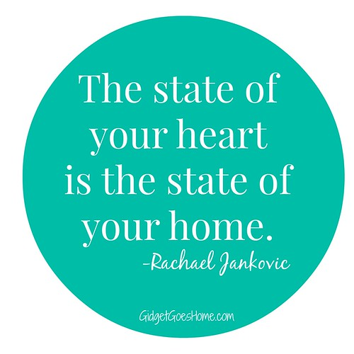 the state of your heart/home