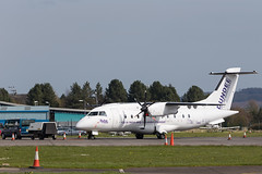 The new FlyBe Dundee colour scheme...