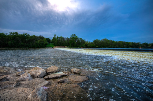 storm river illinois il fox thunderstorm foxriver thunder yorkville yorkvilleillinois yorkvilleil
