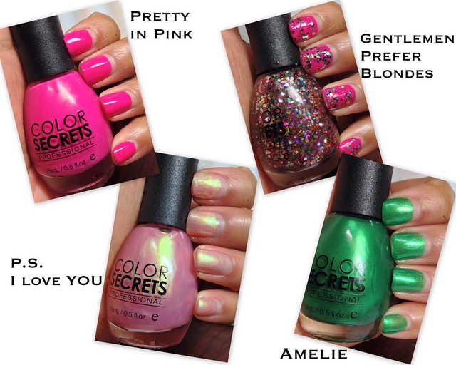 Color Secrets polishes