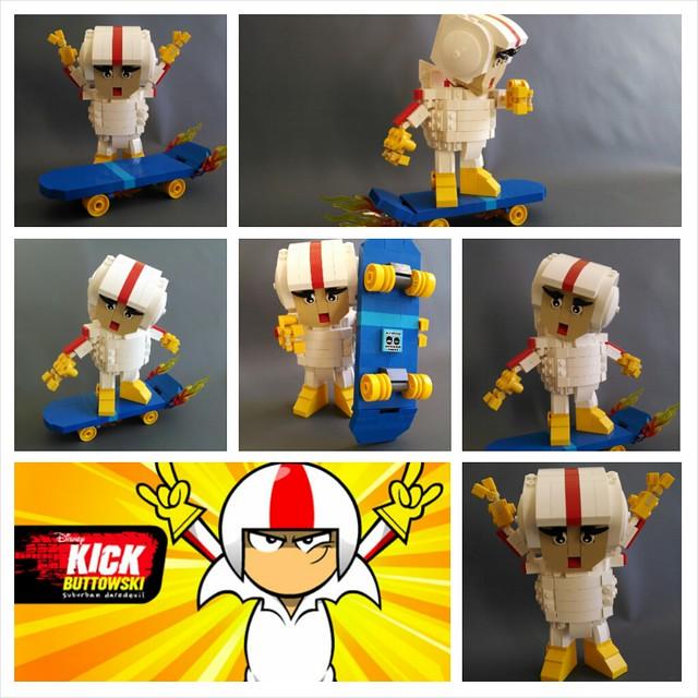 Lego Kick Buttowski