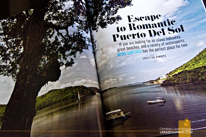 Inflight Traveller Magazine Featuring Busuanga