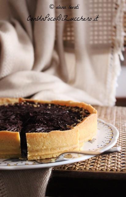Crostata cioccolato e pere - pear and chocolate tart