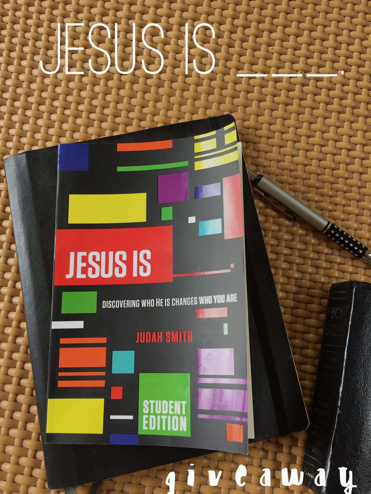 Jesus Is giveaway
