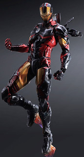 Play Arts 改 MARVEL COMICS 變體版鋼鐵人
