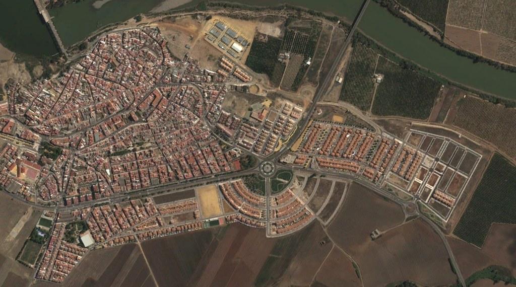 alcalá del río, sevilla, al calar la barca, después, urbanismo, planeamiento, urbano, desastre, urbanístico, construcción, rotondas, carretera