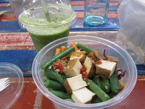 malaysian tofu noodle salad