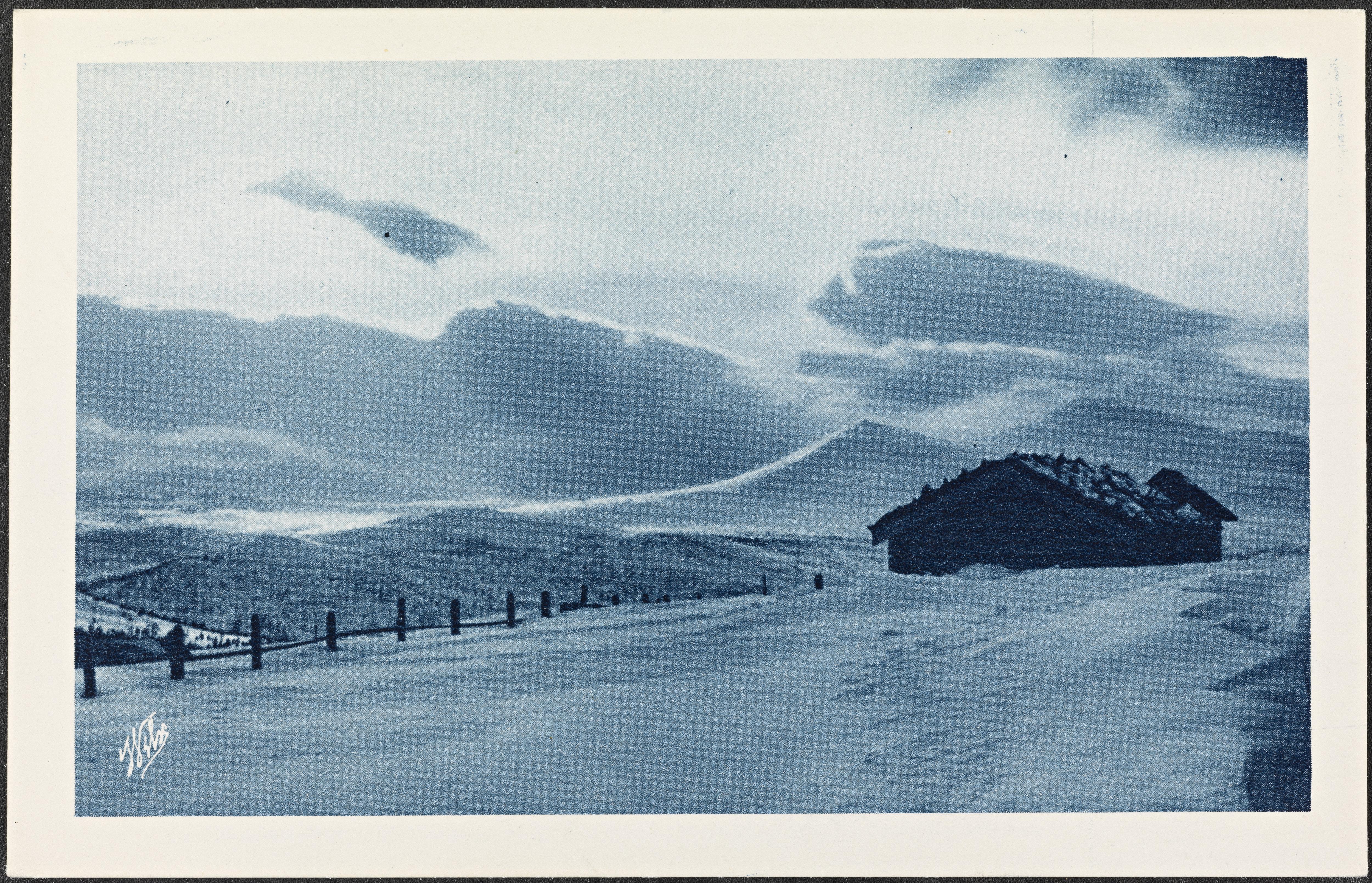 Vinterlandskap i Norge / Winter landscape in Norway