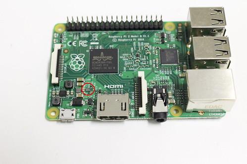 RaspberryPi2 u16 chip