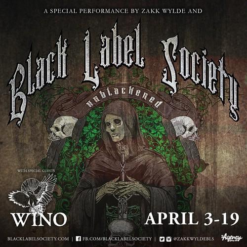 Black Label Society at Rams Head Live