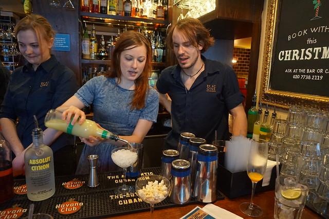 Cocktail Making Masterclass Jan 2015