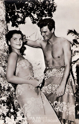 Louis Jourdan and Debra Paget in Bird of Paradise (1951)