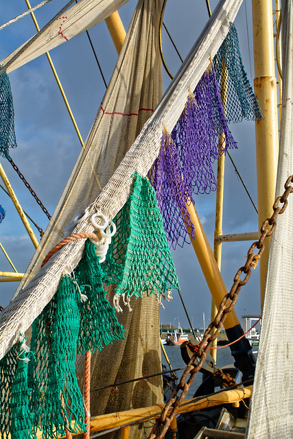 Agrusoft Webdesign Photopage - Drying The Colored Nets