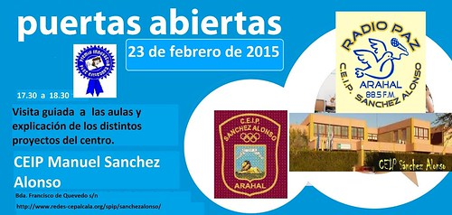 AionSur 16412093528_89c54b673b_d Jornadas de puertas abiertas en el CEIP Manuel Sánchez Alonso el día 23 Educación
