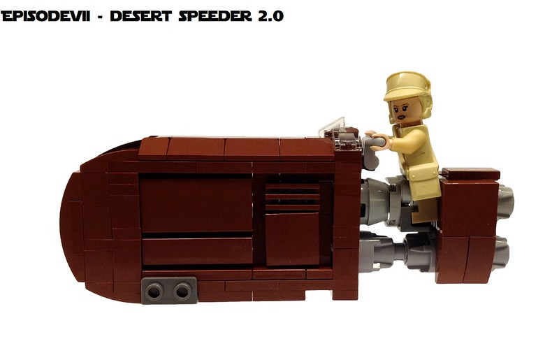 Desert Speeder 2.0, by markus1984 and Vaionaut, on Imperium der Steine