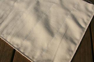 Tuto couture - bouillotte dorsale graines de lin - Etape 7