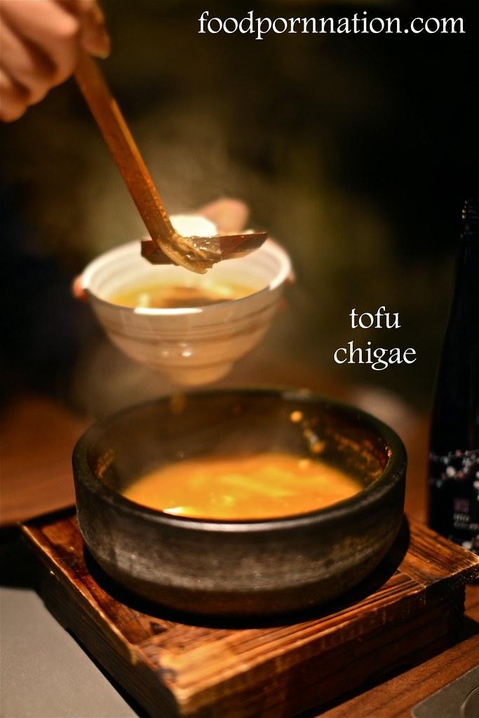 tofu chigae - Kintan