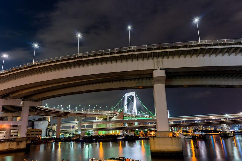 Raibow Bridge, Tokyo