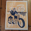 In the words of Alex T Frazer have a great bank holiday weekend ! Print available online and in the gallery - but we are closed on monday.#richardgoodallgallery #motorbike #tattoo