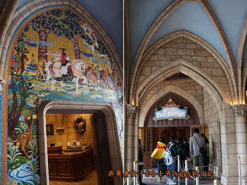 東京迪士尼樂園18仙履奇緣童話大廳Cinderella's Fairy Tale Hall