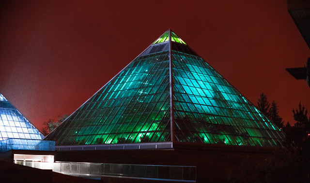 The Green Pyramid of Mars