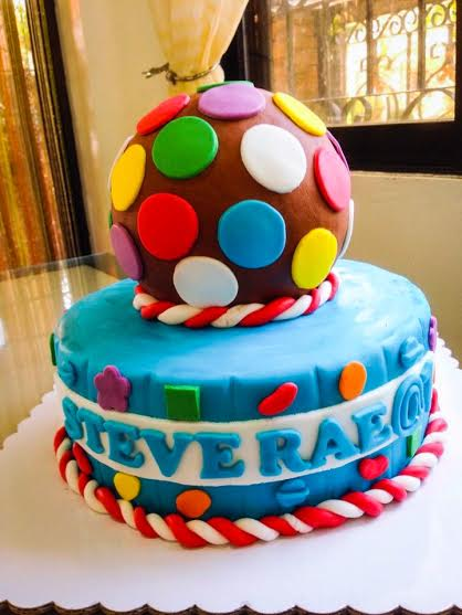 Candy Crush Themed Cake Sweetbuddies by Gerlyn and Noemi