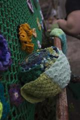 Yarn bombing Besançon 42