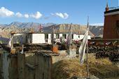 Nepal, Mustang-Trekking in den Damodar Himal und zum Saribung Peak, 6346 m. Hauptstadt Lo Mantang. Foto: Reiner Müller.