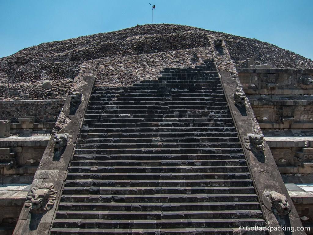 The Temple of Quetzalcoatl (Feathered Serpent)