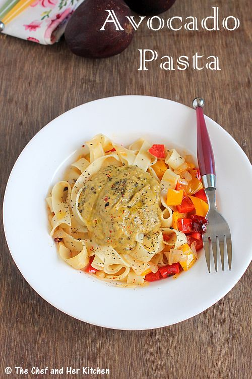 Creamy Avocado Pasta | Avocado Recipes