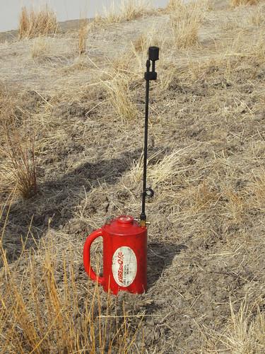 The amusingly-named Firebug fire lighter (055)