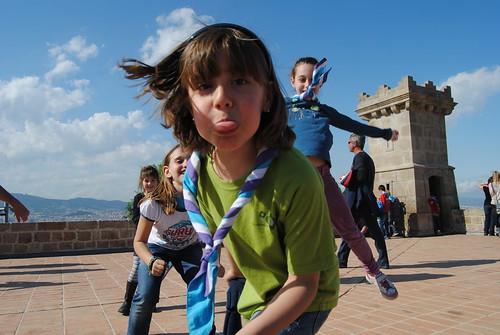 Natzarets al Castell de Montjuïc