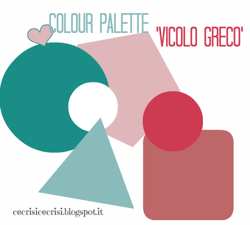 freebies, labels, colour palette 'vicolo greco'