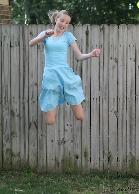 adult skater dress jump