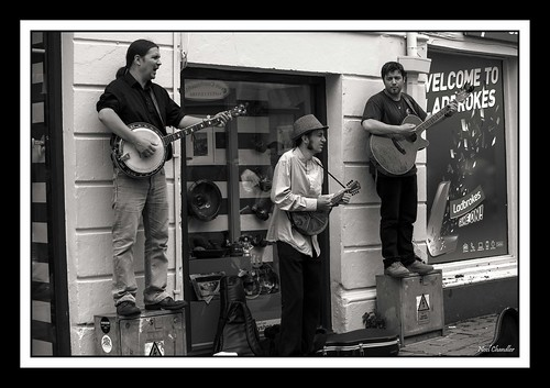 Galway street entertainment