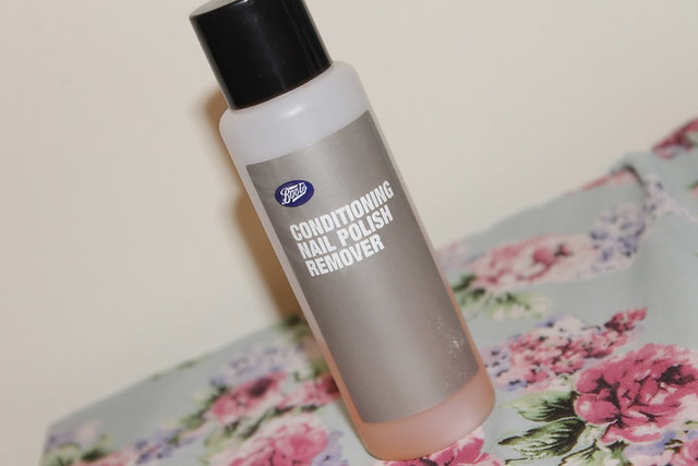 Boots Conditioning Nail Polish Remover