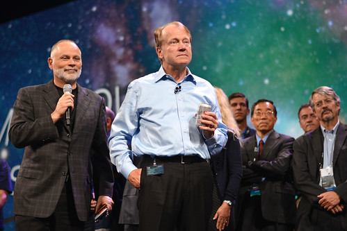 John Chambers & the Cisco Exec at Cisco Live 2013 Orlando