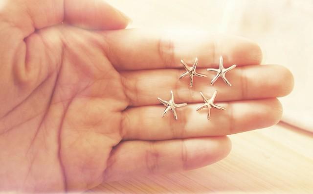 Starfish Earstuds