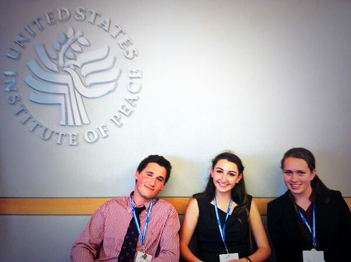 NSLC INTL Visits US Institute of Peace