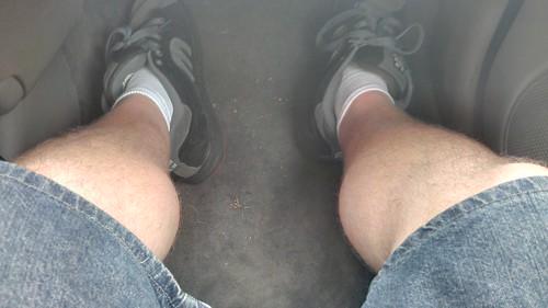 #Random #feet #covered #shoes