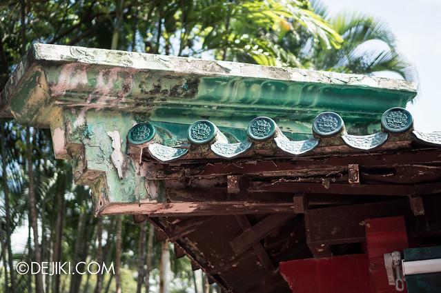 Haw Par Villa - aged roof